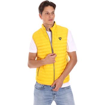 textil Herr Koftor / Cardigans / Västar Ciesse Piumini 215CFMV11394 N021D0 Gul