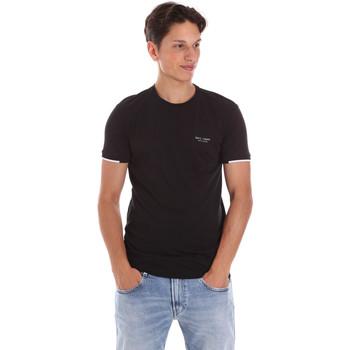 textil Herr T-shirts Key Up 2S420 0001 Svart