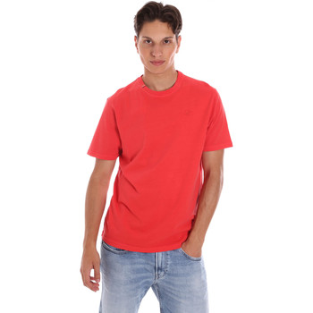 textil Herr T-shirts Ciesse Piumini 215CPMT01455 C2410X Röd