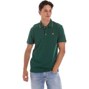 textil Herr Kortärmade pikétröjor Ciesse Piumini 215CPMT21423 C2510X Grön