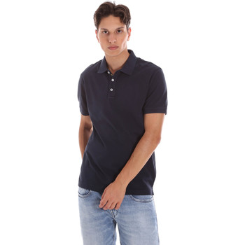 textil Herr Kortärmade pikétröjor Ciesse Piumini 215CPMT21454 C0530X Blå
