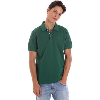 textil Herr Kortärmade pikétröjor Ciesse Piumini 215CPMT21454 C0530X Grön