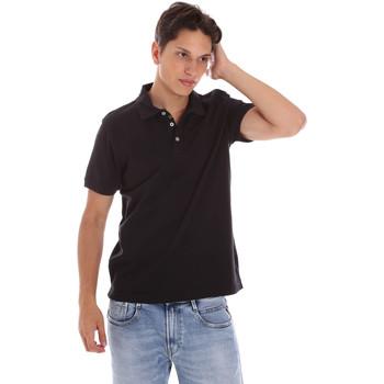 textil Herr Kortärmade pikétröjor Ciesse Piumini 215CPMT21454 C0530X Svart
