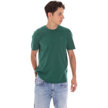textil Herr Kortärmade pikétröjor Ciesse Piumini 215CPMT01455 C2410X Grön