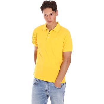 textil Herr Kortärmade pikétröjor Ciesse Piumini 215CPMT21454 C0530X Gul