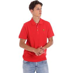 textil Herr Kortärmade pikétröjor Ciesse Piumini 215CPMT21424 C0530X Röd