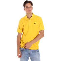 textil Herr Kortärmade pikétröjor Ciesse Piumini 215CPMT21424 C0530X Gul