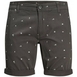 textil Herr Shorts / Bermudas Produkt Takm chino 12171311 Grå