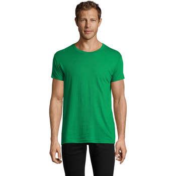 textil Herr T-shirts Sols REGENT FIT CAMISETA MANGA CORTA Verde