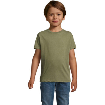 textil Barn T-shirts Sols REGENT FIT CAMISETA MANGA CORTA Kaki