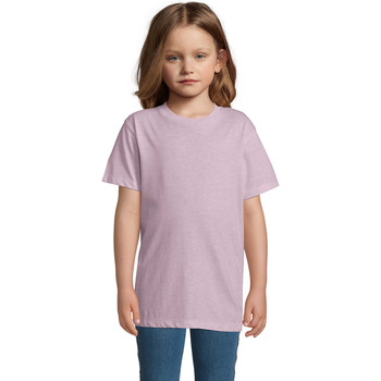textil Barn T-shirts Sols REGENT FIT CAMISETA MANGA CORTA Rosa