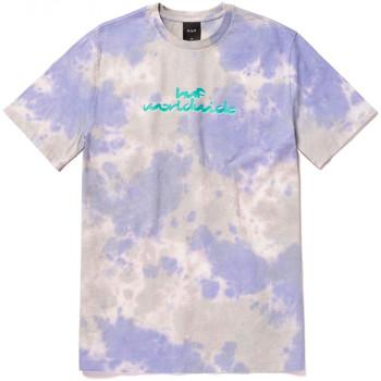 textil Herr T-shirts Huf T-shirt chemistry ss Violett
