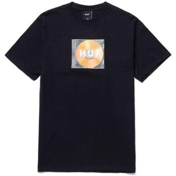 textil Herr T-shirts Huf T-shirt mix box logo ss Svart