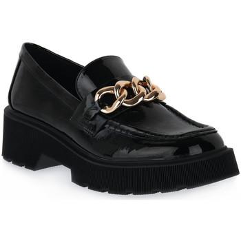 Skor Dam Loafers Steve Madden AMULET BLACK Nero