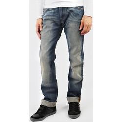 textil Herr Raka byxor Lee Zed L71742RT blue