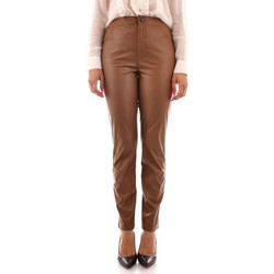 textil Dam Chinos / Carrot jeans Emme Marella COPY BROWN
