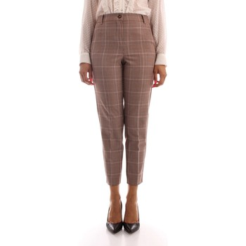 textil Dam Chinos / Carrot jeans Iblues NAIF BROWN