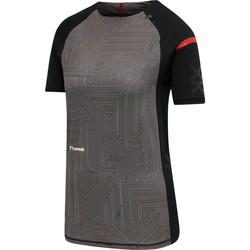 textil Dam T-shirts Hummel Maillot d'échauffement femme  hmlPRO XK noir/rose clair