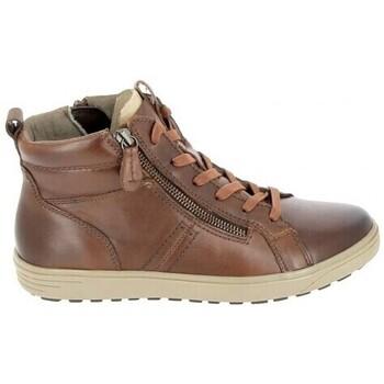 Skor Dam Höga sneakers Jana Boots 25202 Cognac Brun