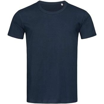 textil Herr T-shirts Stedman Stars Stars Blå