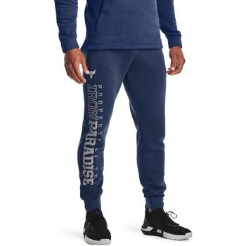 textil Herr Joggingbyxor Under Armour UA Pjt Rock Blå