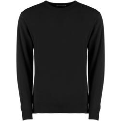 textil Herr Sweatshirts Kustom Kit K253 Svart