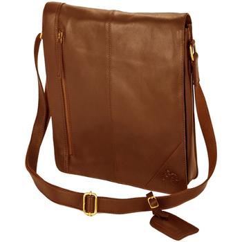 Väskor Pojkar Axelremsväskor Eastern Counties Leather  Tan