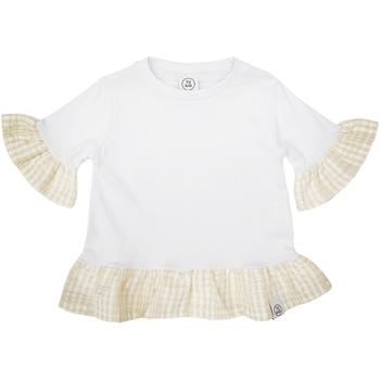 textil Flickor T-shirts Naturino 6001011 01 Vit