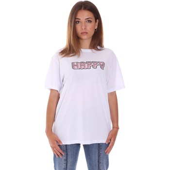 textil Dam T-shirts Naturino 6001026 01 Vit