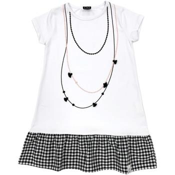 textil Flickor Korta klänningar Naturino 6000724 01 Vit