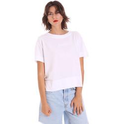 textil Dam T-shirts Invicta 4451248/D Vit