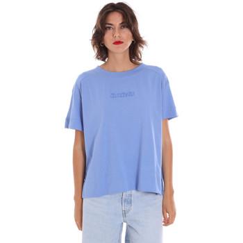 textil Dam T-shirts Invicta 4451248/D Blå