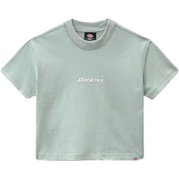 textil Dam T-shirts Dickies DK0A4XBAB871 Grön