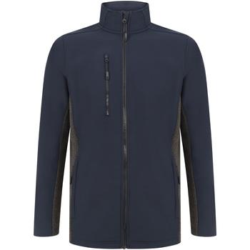 textil Jackor Henbury HB835 Marinblått/grått