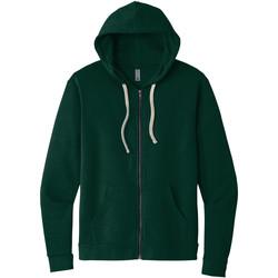 textil Sweatshirts Next Level NX9602 Skogsgrön