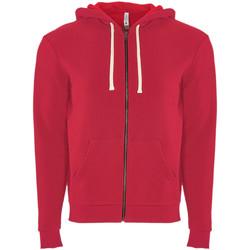 textil Sweatshirts Next Level NX9602 Röd