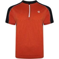 textil Herr T-shirts Dare 2b  Trail Blaze röd/svart