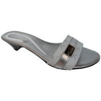 Skor Dam Tofflor Keys  Silver