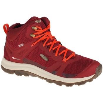 Skor Dam Höga sneakers Keen Terradora II WP Röda