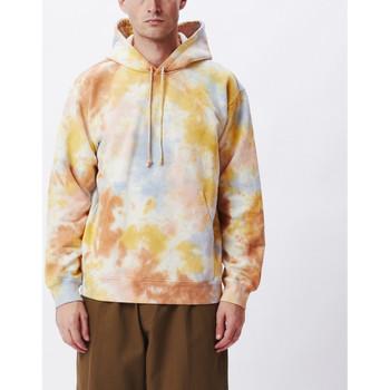 textil Herr Sweatshirts Obey Mini bold recycled tie dye hd Flerfärgad