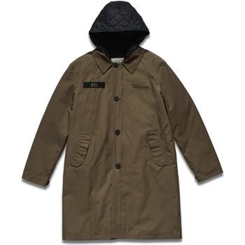 textil Herr Kappor Halo Parka  Military Coat marron vintage