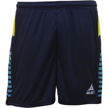 textil Pojkar Shorts / Bermudas Select Short enfant  player pop art bleu marine/bleu clair/jaune