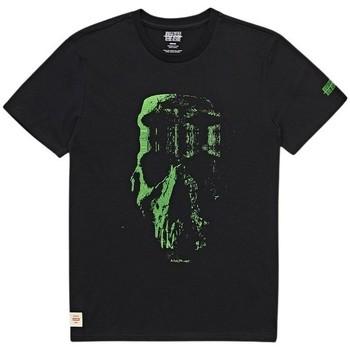 textil Herr T-shirts Globe T-shirt  Refuse Skull noir