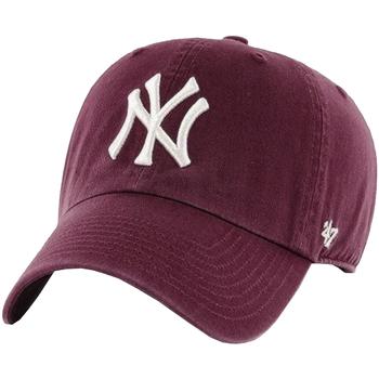 Accessoarer Herr Keps 47 Brand New York Yankees MLB Clean Up Cap Bordeaux