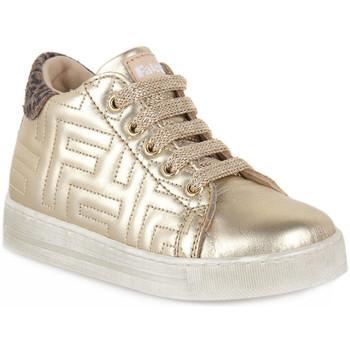 Skor Pojkar Sneakers Naturino Q45 ORMEN PLATINUM TAUPE Marrone