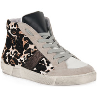 Skor Dam Höga sneakers At Go GO 4146 CHICCO BIANCO Bianco