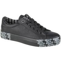 Skor Dam Sneakers Big Star Shoes Noir