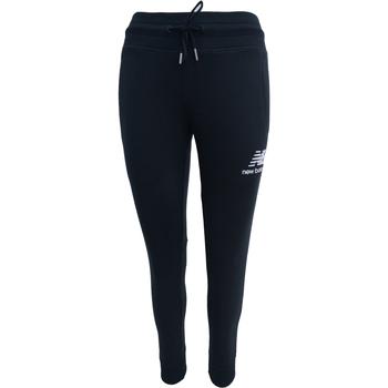 textil Dam Joggingbyxor New Balance Essentials French Terry Sweatpant Svart