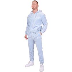 textil Herr Sportoverall Project X Paris Jogging Velvet Logo bleu ciel