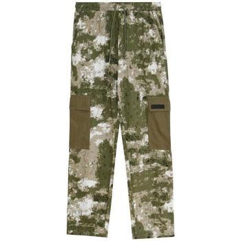 textil Herr Cargobyxor Sixth June Pantalon  Cargo Camouflage vert camouflage